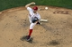 May 30, 2014; Washington, DC, USA; Washington Nationals starting pitcher Stephen Strasburg (37) pitches during the fourth inning against the Texas Rangers  at Nationals Park. Mandatory Credit: Tommy Gilligan-USA TODAY Sports
