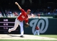 May 31, 2014; Washington, DC, USA; Washington Nationals starting pitcher Doug Fister (58) throws during the first inning against the Texas Rangers at Nationals Park. Mandatory Credit: Brad Mills-USA TODAY Sports
