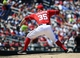 May 31, 2014; Washington, DC, USA; Washington Nationals relief pitcher Craig Stammen (35) throws during the seventh inning against the Texas Rangers at Nationals Park. Mandatory Credit: Brad Mills-USA TODAY Sports