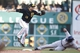 Jun 7, 2014; Pittsburgh, PA, USA; Pittsburgh Pirates second baseman Neil Walker (18) leaps off of the bag after forcing Milwaukee Brewers first baseman Mark Reynolds (7) out at second base during the eighth inning at PNC Park. The Brewers won 9-3. Mandatory Credit: Charles LeClaire-USA TODAY Sports