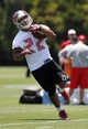 Jun 10, 2014; Tampa Bay, FL, USA;  Tampa Bay Buccaneers running back Doug Martin (22) works out during mini camp at One Buccaneer Place. Mandatory Credit: Kim Klement-USA TODAY Sports