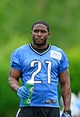 Jun 10, 2014; Detroit, MI, USA; Detroit Lions running back Reggie Bush (21) during mini camp at Detroit Lions training facility. Mandatory Credit: Andrew Weber-USA TODAY Sports