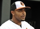 Jun 10, 2014; Baltimore, MD, USA;  Baltimore Orioles left fielder Nelson Cruz (23) prior to a game against the Boston Red Sox at Oriole Park at Camden Yards. Mandatory Credit: Joy R. Absalon-USA TODAY Sports