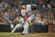 Jun 10, 2014; Baltimore, MD, USA; Boston Red Sox pitcher Junichi Tazawa (36) pitches in the eighth inning against the Baltimore Orioles at Oriole Park at Camden Yards. The Red Sox defeated the Orioles 1-0. Mandatory Credit: Joy R. Absalon-USA TODAY Sports