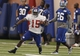 Jun 12, 2014; Berea, OH, USA;  New York Giants wide receiver Trindon Holliday (15) runs the ball during New York Giants minicamp at the Quest Diagnostics Training Center. William Perlman/The Star-Ledger-USA TODAY Sports