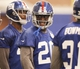Jun 12, 2014; East Rutherford, NJ, USA; New York Giants cornerback Prince Amukamara (20) during New York Giants minicamp at the Quest Diagnostics Training Center. William Perlman/The Star-Ledger-USA TODAY Sports