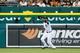 Jun 7, 2014; Detroit, MI, USA; Detroit Tigers center fielder Austin Jackson (14) makes a catch against the Boston Red Sox at Comerica Park. Mandatory Credit: Rick Osentoski-USA TODAY Sports
