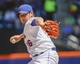 Jun 15, 2014; New York, NY, USA; New York Mets relief pitcher Daisuke Matsuzaka (16) throws during the first inning against the San Diego Padres at Citi Field. Mandatory Credit: Robert Deutsch-USA TODAY Sports