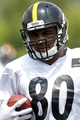 Jun 17, 2014; Pittsburgh, PA, USA; Pittsburgh Steelers tight end Eric Waters (80) participates in drills during minicamp at the UPMC Sports Performance Complex. Mandatory Credit: Charles LeClaire-USA TODAY Sports