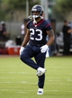 Jun 17, 2014; Houston, TX, USA; Houston Texans running back Arian Foster (23) goes through drills during mini camp at Houston Methodist Training Center. Mandatory Credit: Andrew Richardson-USA TODAY Sports