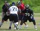 Jun 17, 2014; St. Louis, MO, USA; St. Louis Rams offensive tackle Greg Robinson (79) runs through drills during minicamp at Rams Park. Mandatory Credit: Jeff Curry-USA TODAY Sports