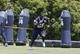 Jun 17, 2014; Dallas, TX, USA; Dallas Cowboys defensive tackle Henry Melton (69) works out during minicamp at Cowboys headquarters at Valley Ranch. Mandatory Credit: Matthew Emmons-USA TODAY Sports