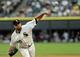 Jun 17, 2014; Chicago, IL, USA; Chicago White Sox starting pitcher John Danks (50) pitches against the San Francisco Giants at U.S Cellular Field. Mandatory Credit: Matt Marton-USA TODAY Sports