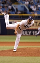 Jun 6, 2014; St. Petersburg, FL, USA; Tampa Bay Rays relief pitcher Joel Peralta (62) throws a pitch against the Seattle Mariners at Tropicana Field. Tampa Bay Rays defeated the Seattle Mariners 4-0. Mandatory Credit: Kim Klement-USA TODAY Sports
