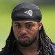 Jun 17, 2014; St. Louis, MO, USA; St. Louis Rams running back Tre Mason (27) looks on during minicamp at Rams Park. Mandatory Credit: Jeff Curry-USA TODAY Sports