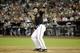 Jun 21, 2014; Phoenix, AZ, USA; Arizona Diamondbacks first baseman Paul Goldschmidt (44) throws his bat after drawing a seventh inning walk against the San Francisco Giants at Chase Field. Mandatory Credit: Joe Camporeale-USA TODAY Sports