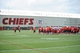 Jun 17, 2014; Kansas City, MO, USA; A general view of the Kansas City Chiefs fields during the Kansas City Chiefs minicamp at University of Kansas Hospital Training Complex. Mandatory Credit: Denny Medley-USA TODAY Sports