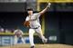 Jun 21, 2014; Phoenix, AZ, USA; San Francisco Giants relief pitcher Jeremy Affeldt (41) pitches against the Arizona Diamondbacks at Chase Field. The Giants won 6-4. Mandatory Credit: Joe Camporeale-USA TODAY Sports