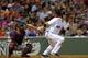 Jun 17, 2014; Boston, MA, USA; Boston Red Sox shortstop Stephen Drew (7) bats during the fifth inning against the Minnesota Twins at Fenway Park. Mandatory Credit: Bob DeChiara-USA TODAY Sports