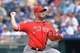 Jun 29, 2014; Kansas City, MO, USA; Los Angeles Angels pitcher Kevin Jepsen (40) delivers a pitch against the Kansas City Royals during the eighth inning at Kauffman Stadium. Mandatory Credit: Peter G. Aiken-USA TODAY Sports
