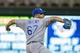 Jun 30, 2014; Minneapolis, MN, USA; Kansas City Royals relief pitcher Francisley Bueno (67) pitches in the seventh inning against the Minnesota Twins at Target Field. The Kansas City Royals win 6-1. Mandatory Credit: Brad Rempel-USA TODAY Sports