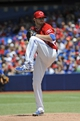Jul 1, 2014; Toronto, Ontario, CAN; Toronto Blue Jays starting pitcher Drew Hutchison (36) throws against the Milwaukee Brewers at Rogers Centre. Mandatory Credit: Peter Llewellyn-USA TODAY Sports
