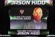 Jul 2, 2014; Milwaukee, WI, USA; Milwaukee Bucks new head coach Jason Kidd is featured on the jumbotron before a news conference at the BMO Harris Bradley Center. Mandatory Credit: Mary Langenfeld-USA TODAY Sports