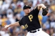 Jul 5, 2014; Pittsburgh, PA, USA; Pittsburgh Pirates relief pitcher Mark Melancon (35) pitches against the Philadelphia Phillies during the ninth inning at PNC Park. The Pirates won 3-2. Mandatory Credit: Charles LeClaire-USA TODAY Sports