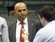 Jul 2, 2014; Milwaukee, WI, USA; Milwaukee Bucks new head coach Jason Kidd listens to a question during a post-news conference interview at the BMO Harris Bradley Center. Mandatory Credit: Mary Langenfeld-USA TODAY Sports