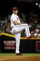 Jul 8, 2014; Phoenix, AZ, USA; Arizona Diamondbacks starting pitcher Vidal Nuno (54) throws during the first inning against the Miami Marlins at Chase Field. Mandatory Credit: Matt Kartozian-USA TODAY Sports