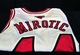 Jul 18, 2014; Chicago, IL, USA; A detailed shot of the jersey for new Chicago Bulls player Nikola Mirotic before a press conference at the United Center. Mandatory Credit: David Banks-USA TODAY Sports
