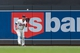 Jul 23, 2014; Minneapolis, MN, USA; Minnesota Twins right fielder Oswaldo Arcia (31) catches the fly ball in the second inning against the Cleveland Indians at Target Field. Mandatory Credit: Brad Rempel-USA TODAY Sports