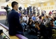 Jul 24, 2014; El Segundo, CA, USA; Los Angeles Lakers Jeremy Lin waits to be introduced to the media during a press conference at Toyota Sports Center. Mandatory Credit: Jayne Kamin-Oncea-USA TODAY Sports