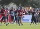 Jul 26, 2014; Houston, TX, USA; Houston Texans quarterback Ryan Fitzpatrick (14) warms up during training camp at Houston Methodist Training Center. Mandatory Credit: Troy Taormina-USA TODAY Sports