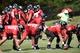 Jul 26, 2014; Atlanta, GA, USA; Atlanta Falcons quarterback Matt Ryan (2) calls a play on the field during training camp at Falcons Training Complex. Mandatory Credit: Dale Zanine-USA TODAY Sports
