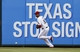 Jul 27, 2014; Arlington, TX, USA; Texas Rangers right fielder Alex Rios (51) chases the ball hit for a two-run double by Oakland Athletics catcher John Jaso (not shown) during the fifth inning of a baseball game at Globe Life Park in Arlington. Mandatory Credit: Jim Cowsert-USA TODAY Sports