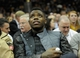 Dec 10, 2013; Cleveland, OH, USA; Cleveland Browns wide receiver Josh Gordon watches a game between the Cleveland Cavaliers and the New York Knicks in the fourth quarter at Quicken Loans Arena. Mandatory Credit: David Richard-USA TODAY Sports