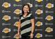 Jul 29, 2014; El Segundo, CA, USA; Kristie Johnston poses at press conference at Toyota Sports Center. Mandatory Credit: Kirby Lee-USA TODAY Sports