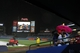 Aug 8, 2014; Atlanta, GA, USA; Fans wait outside of the Atlanta Braves dugout during a rain delay in a game against the Washington Nationals in the sixth inning at Turner Field. Mandatory Credit: Brett Davis-USA TODAY Sports