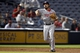 Aug 8, 2014; Atlanta, GA, USA; Washington Nationals third baseman Anthony Rendon (6) throws a runner out at first against the Atlanta Braves in the seventh inning at Turner Field. Mandatory Credit: Brett Davis-USA TODAY Sports
