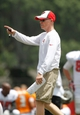 Jul 28, 2014; Tampa, FL, USA; Tampa Bay Buccaneers special teams coordinator Kevin O'Dea during training camp at One Buc Place. Mandatory Credit: Kim Klement-USA TODAY Sports