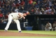 Aug 10, 2014; Atlanta, GA, USA; Atlanta Braves relief pitcher Craig Kimbrel (46) prepares to deliver a pitch to a Washington Nationals batter in the ninth inning of their game at Turner Field. The Braves won 3-1. Mandatory Credit: Jason Getz-USA TODAY Sports