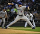 Aug 15, 2014; Chicago, IL, USA; Toronto Blue Jays relief pitcher Chad Jenkins (64) pitches against the Chicago White Sox during the first inning at U.S Cellular Field. Mandatory Credit: David Banks-USA TODAY Sports