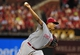 Aug 19, 2014; St. Louis, MO, USA; Cincinnati Reds starting pitcher Alfredo Simon (31) throws to a St. Louis Cardinals batter during the sixth inning at Busch Stadium. Mandatory Credit: Jeff Curry-USA TODAY Sports