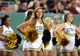 Aug 29, 2014; Denver, CO, USA; Colorado State Rams cheerleaders perform during the fourth quarter against the Colorado Buffaloes at Sports Authority Field at Mile High. Mandatory Credit: Ron Chenoy-USA TODAY Sports