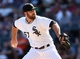 Aug 31, 2014; Chicago, IL, USA; Chicago White Sox relief pitcher Zach Putnam throws a pitch against the Detroit Tigers during the eighth inning at U.S Cellular Field. Mandatory Credit: Jerry Lai-USA TODAY Sports