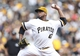 Aug 31, 2014; Pittsburgh, PA, USA; Pittsburgh Pirates starting pitcher Francisco Liriano (47) pitches against the Cincinnati Reds during the sixth inning at PNC Park. The Reds won 3-2. Mandatory Credit: Charles LeClaire-USA TODAY Sports
