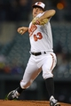 Apr 28, 2016; Baltimore, MD, USA;  Baltimore Orioles relief pitcher Tyler Wilson (63) pitches during the first inning against the Chicago White Sox at Oriole Park at Camden Yards. Mandatory Credit: Tommy Gilligan-USA TODAY Sports