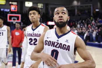 Gonzaga vs. North Dakota - 11/12/19 College Basketball Pick, Odds, and Prediction