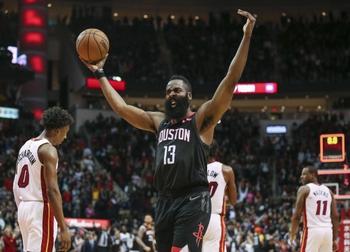 Miami Heat vs. Houston Rockets - 10/18/19 NBA Pick, Odds, and Prediction